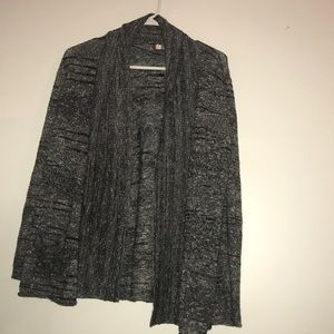 New condition grey cardigan with front pockets